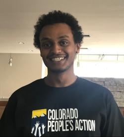 Colorado People's Action. Field Organizer. Ananiya Asrat