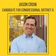 Jason Crow Colorado congressional district 6 colorado people's action endorsement